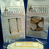 Tonia's Biscotti II LLC Issues Allergy Alert on Undeclared Wheat, Milk, and Soy in Tonia's Biscotti Sampler Bags, Lemon Biscotti Dipped in White Chocolate Bags, and Individually Wrapped Biscotti of All Flavors