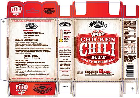 Reily Foods Recalls Chili Seasoning Kits Due To Undeclared Peanut And Almond Allergens Foodrecalls Net