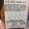 Whole Foods Market Cranston Recalls Salted Caramel Crispies Due to Undeclared Allergen