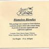 Christ Kitchen Issues Allergy Alert on Undeclared Milk in Blameless Blondies Cookie Bar