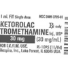 Hospira Issues a Voluntary Global Recall of Multiple Lots of Ketorolac Tromethamine Injection Due to Potential Particulate in Glass Vials