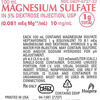 Hospira Issues a Voluntary Nationwide Recall of One Lot of Magnesium Sulfate in 5% Dextrose Injection Due to Incorrect Barcode Labeling