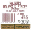 Hines Nut Company Voluntary WALNUT HALVES AND PIECES Due to Possible Health Risk Recalls