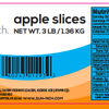 Sun Rich Fresh Foods Inc. Recalls Apple Slices Because Of Possible Health Risk
