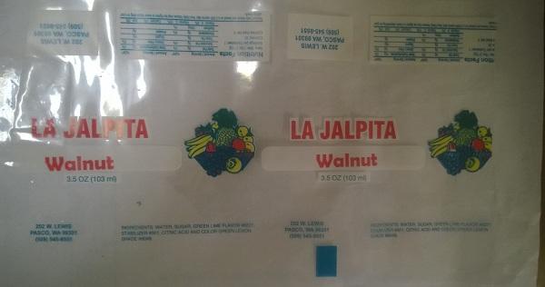 Paleteria La Jalpita Issues Allergy Alert On Undeclared Milk And