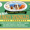 "Boulder Dog Food Company, L.L.C. Voluntarily Recalls Seven Bags of Turkey Sprinkles, 3 oz with A ""Best By"" Date of ""05/18/16, 05/28/2016 and 05/30/2016"" Due to Possible Salmonella Health Risk"