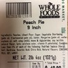 Whole Foods Market's Southwest Region Recalls Cherry, Blackberry and Peach Pies in Four Stores Due to Undeclared Egg