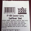 Whole Foods Market Recalls Coconut Curry Cauliflower Salad in Twenty-one Stores Due to Undeclared Almonds